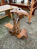 Teak Wood End Table