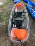 2 Seater Clear Kayak