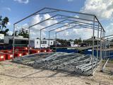 Five Truss Metal Building w/ 11ft Extension