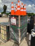 250 Unused 28in Traffic Cones
