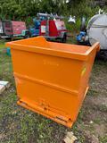 Unused Steel Dumping Hopper