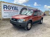 2006 Ford Escape Limited Sport Utility Vehicle