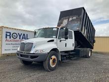 2009 International 4300V Crew Cab Dump Truck