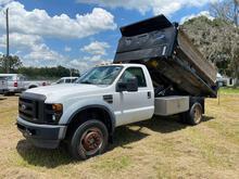 2009 Ford F-550 Dump Truck