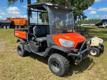 2015 Kubota RTV X900 4x4 Hydraulic Dump Diesel UTV