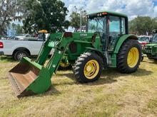2004 John Deere 6320 4WD Front End Loader Tractor