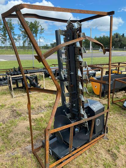 Unused 5ft Skid Steer Hydraulic Trencher