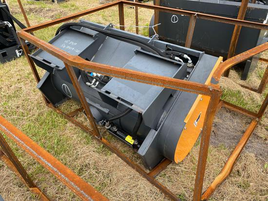 Unused Skid Steer Hydraulic Concrete Mixer Attachment