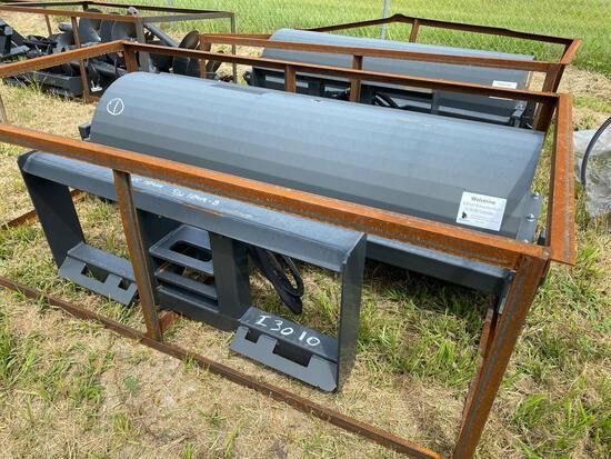 Unused 72in Skid Steer Hydraulic Broom Attachment