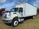 2013 International 4300 Durastar 24ft Box Truck