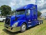 2011 Volvo VNL Tri-Axle Sleeper Truck Tractor
