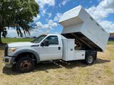 2011 Ford F-550 Chippier Dump Truck