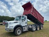 2012 Freightliner M2112 Tri Axle Dump Truck