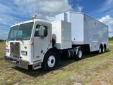 1999 Peterbilt 320 Truck Tractor 60KW Generator and 2006 Media Communications Trailer