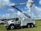 2008 International 7400 T/A 55ft Material Handling Bucket Truck