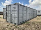 1 Time Use 40ft 5 Door Sea Container