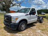 2011 Ford F-250 Cab and Chassis Pickup Truck