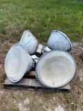 4 Large Security Lights