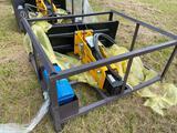 Unused Skid Steer HMB 680 Hydraulic Breaker Demo Hammer