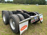 Tandem Axle Tractor Rear End with Fifth Wheel