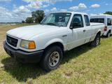 2003 Ford Ranger Extended Cab Pickup Truck