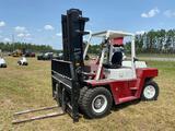 Nissan VF05H70V 14,600LB 3 Stage Cushion Tire Forklift