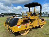 2009 Sakai SW850 Articulated Steel Drum Roller