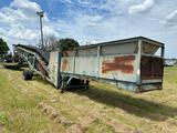Portable Job Site Conveyor and Screen Off Road Only