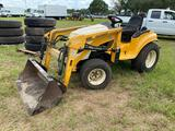 Cub Cadet 7264 4x4 Front End Loader Utility Tractor