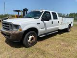 2002 Ford F-450 Crew Cab Service Truck