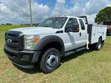 2012 Ford F-550 Extended Cab Service Truck