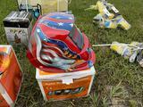 Auto Welding Helmet - Eagle/Flag Design