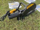 Unused Huskie EC14 14in electric cut off saw