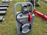 Unused 25 Gallon Diesel Fuel Caddy with 12V Pump
