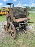 Brown and Carver Vintage Industrial Machine