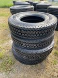 4 Unused Truck Tractor Drive Tires