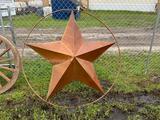 Large Metal Star Decoration