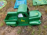 John Deere Metal Toy Truck