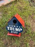Trump 2020 Metal Bird House