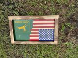 John Deere American Flag Sign