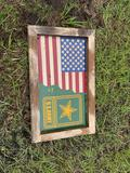American Flag/US Army Sign