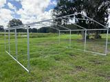 21 x 20ft Galvanized Structure