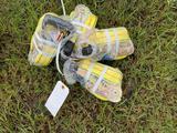 Bundle of Four Ratchet Straps