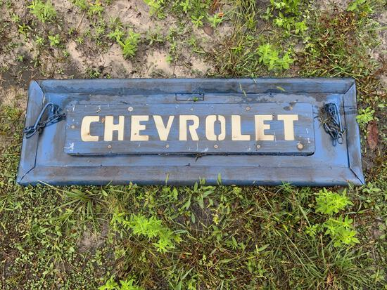 Chevrolet Tailgate Sign