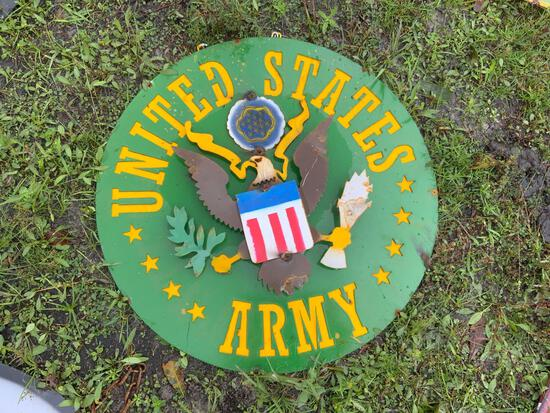 United States Army Sign