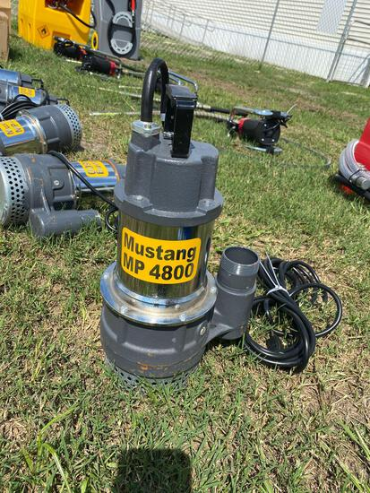 Unused Mustang MP 4800 GPM 2in Sub Pump