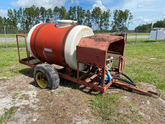 Smithco Hydra Ject Pull Behind Orchard Water Trailer