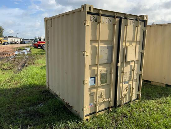 6x8FT Shipping Container FULL of Commercial Hoses and Fittings