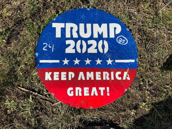 Trump 2020 Sign