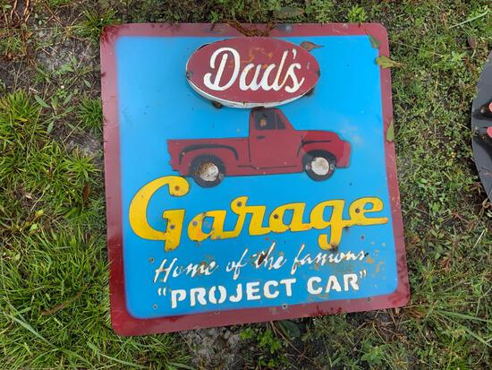 Dad?s Garage Sign